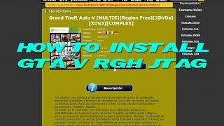 How to Install GTA V RGH/JTAG