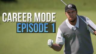 Gus Saxton Career Mode - Episode 1 - Rory McIlroy PGA Tour (EA Sports)