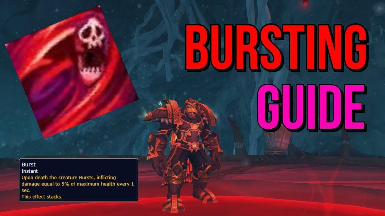 Bursting Affix Guide [BFA Mythic Plus] - YouTube