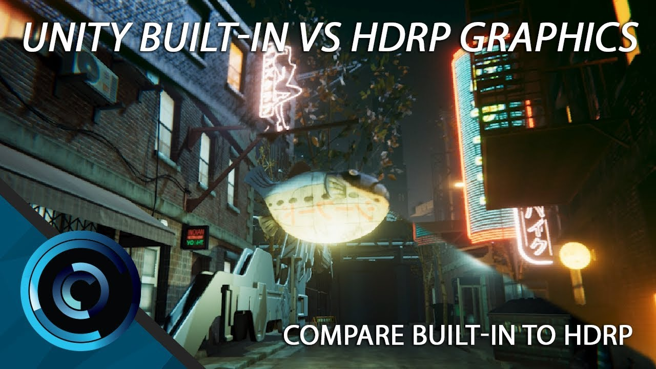 Unity Built-In Render Vs Unity High Definition Render Pipeline Graphics  Comparison