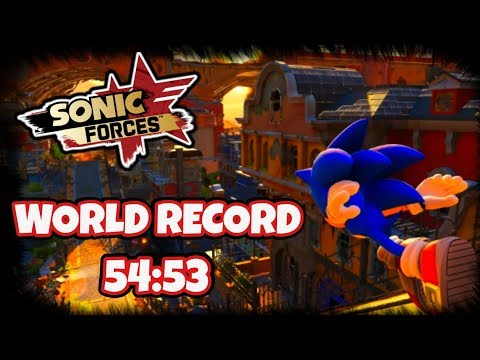 SONIC FORCES - Sunset Heights WORLD RECORD (54:53)