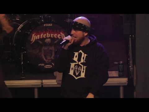 Hatebreed LIVE Looking Down The Barrel Of Today - Brno, Czech Republic 2018