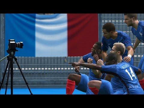 UEFA Euro 2016 – PES 2016 – France vs Iceland | Gameplay (HD) [1080p60FPS]