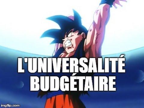 L'Universalité budgétaire