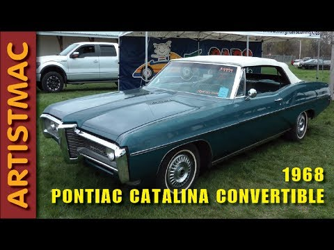 68 Pontiac Catalina Convertible At Spring Jefferson Car Show 2016