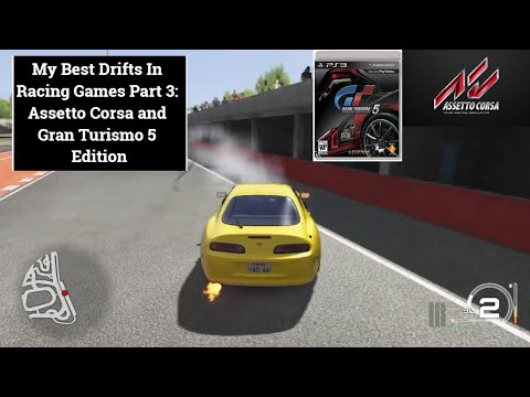 My Best Drifts In Racing Games Part 3: Assetto Corsa and Gran Turismo 5 Edition  