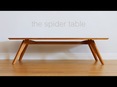 Build A Mid Century Modern Coffee Table - Woodworking