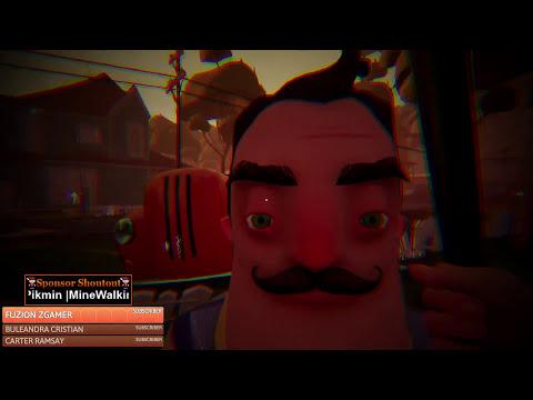 Hello Neighbor Full Game Speed Run [🔴LIVE]