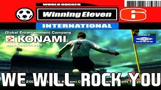 AQUECIMENTO PES 2016 - WINNING ELEVEN 6/PES 2 - WE WILL ROCK YOU