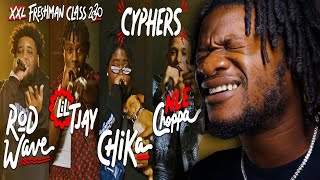 NLE Choppa, Rod Wave, Lil Tjay and Chika's 2020 XXL Freshman Cypher (REACTION)