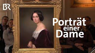 Modisches Highlight: Damenporträt | Kunst + Krempel | BR