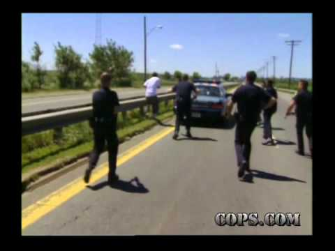 Toughest Takedowns, Officer Michael Hanlon and Gregory McCarthy, COPS TV SHOW