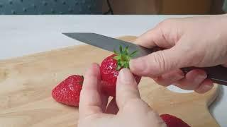 딸기 분유 이유식
