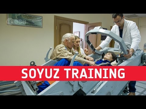 Fit for space  Soyuz training