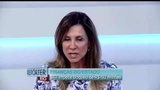 Carmem Lúcia concede liminar que impede a União de bloquear R$ 192 milhões do estado