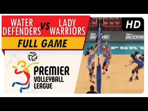 Water Defenders vs. Lady Warriors | Full Game | 1st Set | PVL Reinforced Conference | May 18, 2017