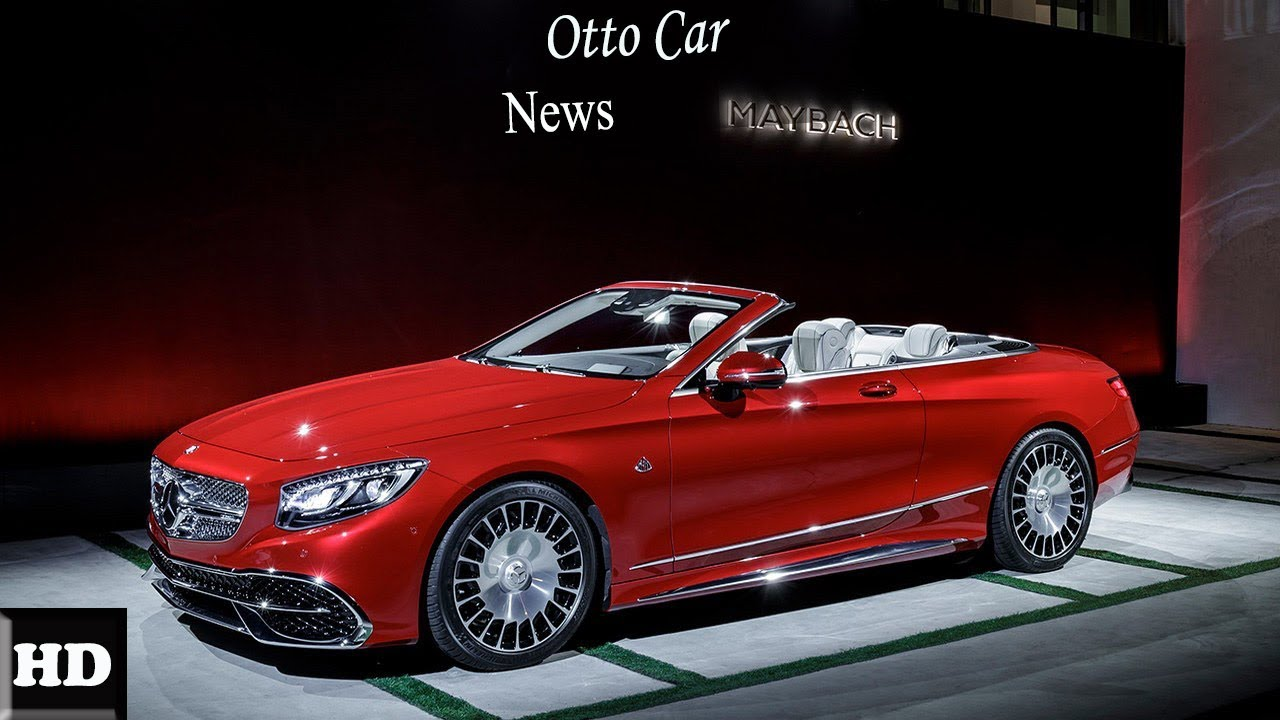 Wow Amazing 2019 Mercedes Maybach 6 Convertible World S Most