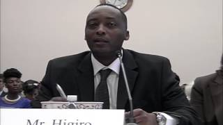 Rwanda's Assassin Robert Higiro Testifies In US Congress About Kagame's Criminal Cartel