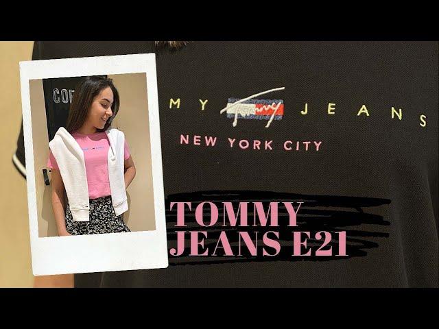 Tendance été 2021 avec Tommy Jeans