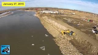 Yellowstone River Rip-Rap Project Miles City, Montana