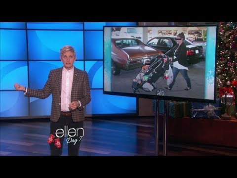 Parking at the Mall on Ellen show