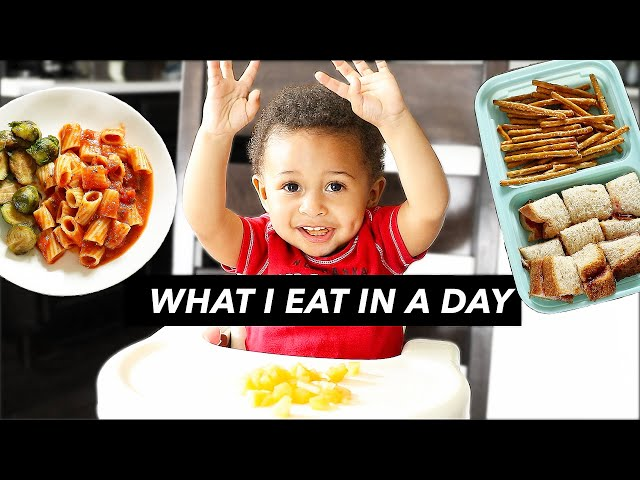 WHAT MY 1-YEAR-OLD EATS IN A DAY (vegan)