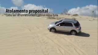 Suzuki SX4 - Aprendendo a dirigir nas dunas