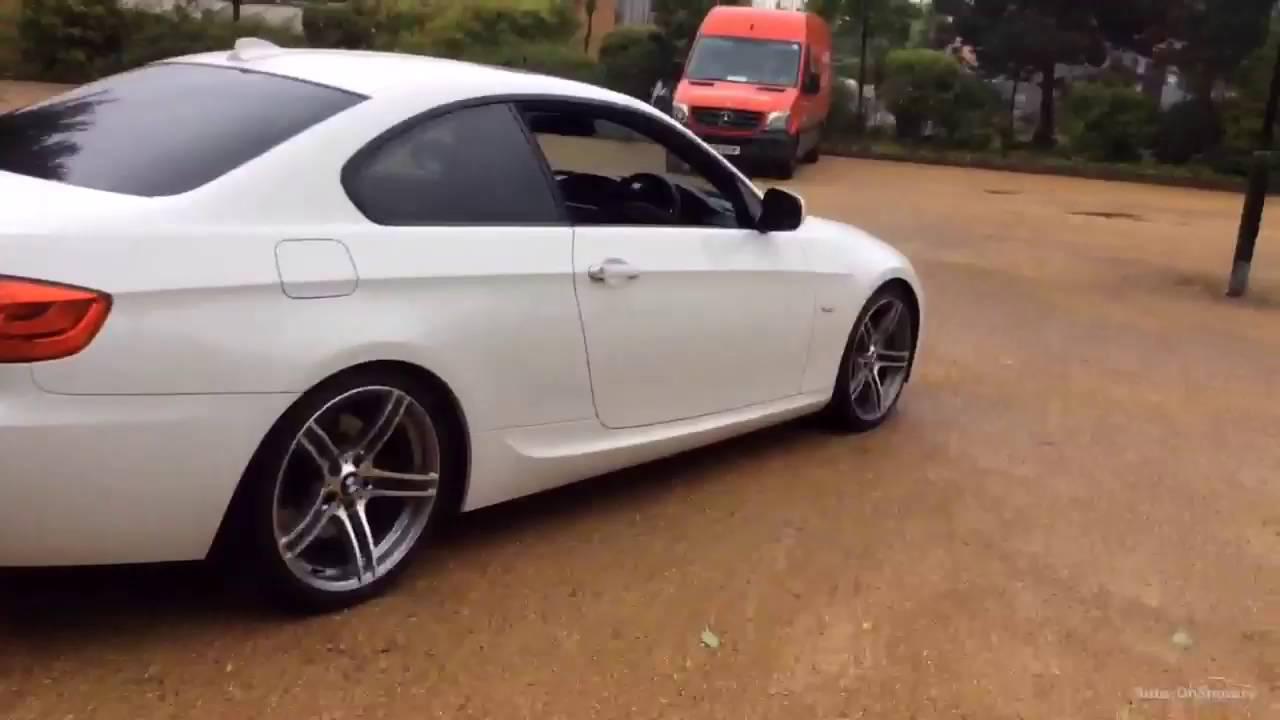 BMW 3 SERIES 335D M SPORT WHITE 2011