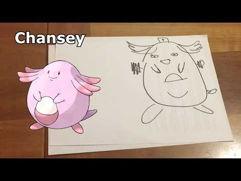 Drawing Pokemon from Memory with My Wife