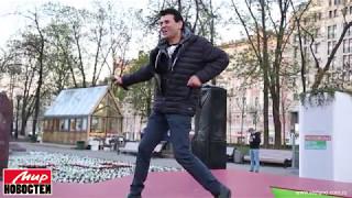 Для фестиваля «Московская весна» от газеты «Мир новостей» гость из Италии