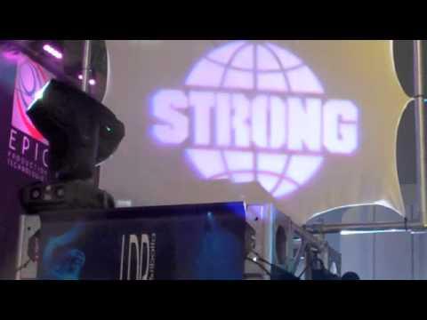 strong entertainment s neeva led profile fixture at ldi 2010 youtube