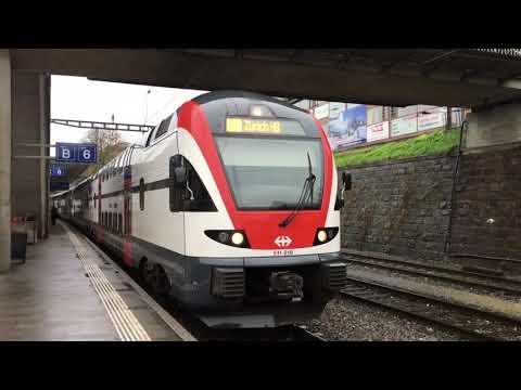 Trains à Thalwil - 4 novembre 2017 - Transports Publics Suisses