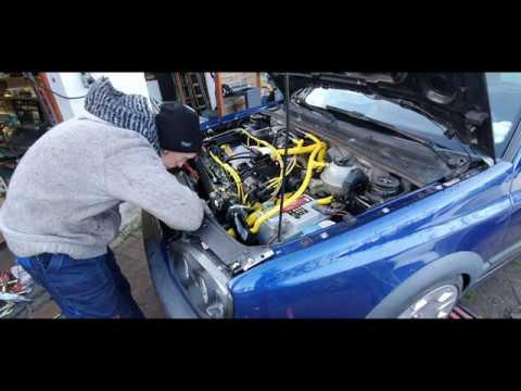 Erster Lauf Projekt VW Golf 3 20 Jahre Edition GTI / Golf 3 Vr6 Turbo Umbau Teil 14