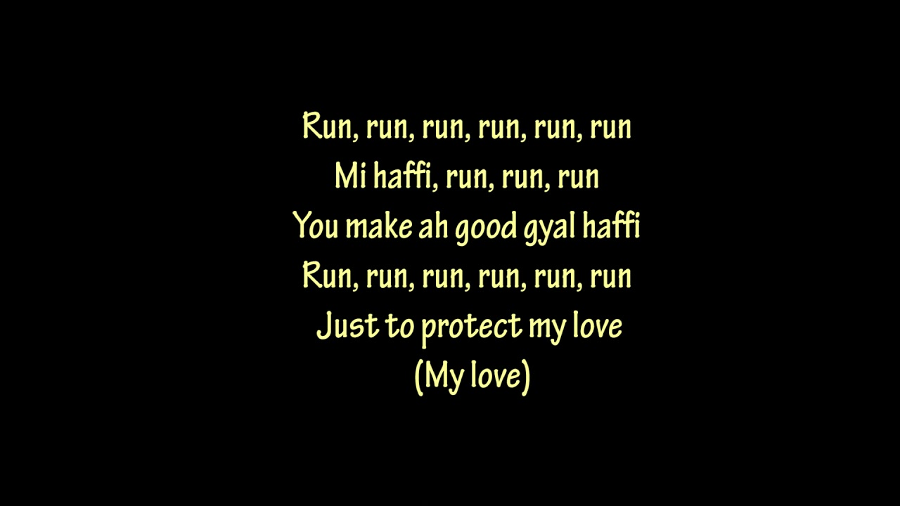 Download Shenseea  - Run Run (lyrics)🎵