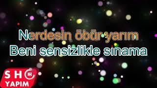 Hande Ünsal Nerdesin Lyrics Karaoke