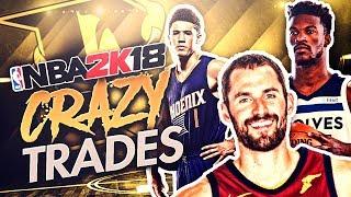 NBA 2K18 Pittsburgh Predators MyLeague Ep. 3 - CRAZY TRADES!!!
