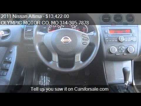 2011 Nissan Altima 2 5 S 4dr Sedan For Sale In Florissant M Youtube