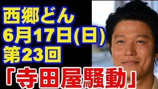 大河ドラマ 西郷どん 第23回のあらすじ・ネタバレ 「寺田屋騒動今ドキッ...
