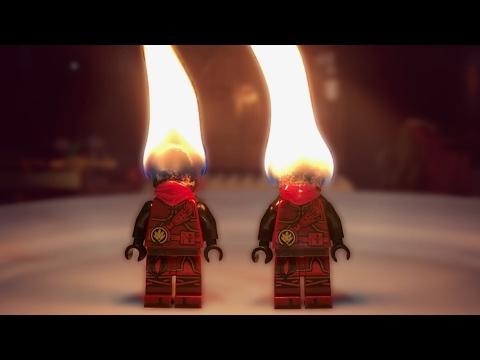 BURNING LEGO NINJAGO KAI!