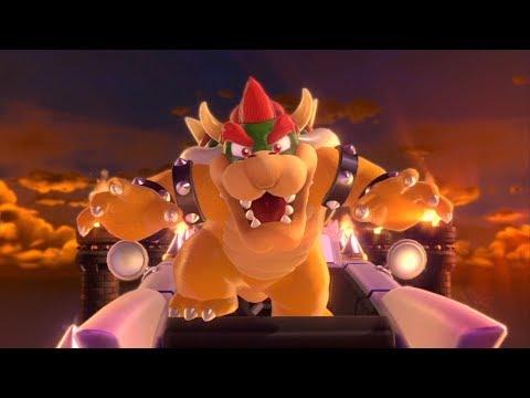 Super Mario 3D World [Part 3] - Bowser's Extreme Team Rocket Affiliated Sports Car!