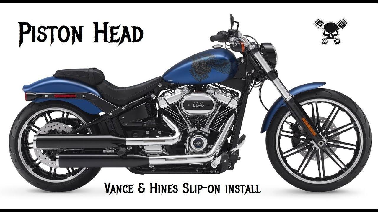Vance & Hines Slip-Ons Install