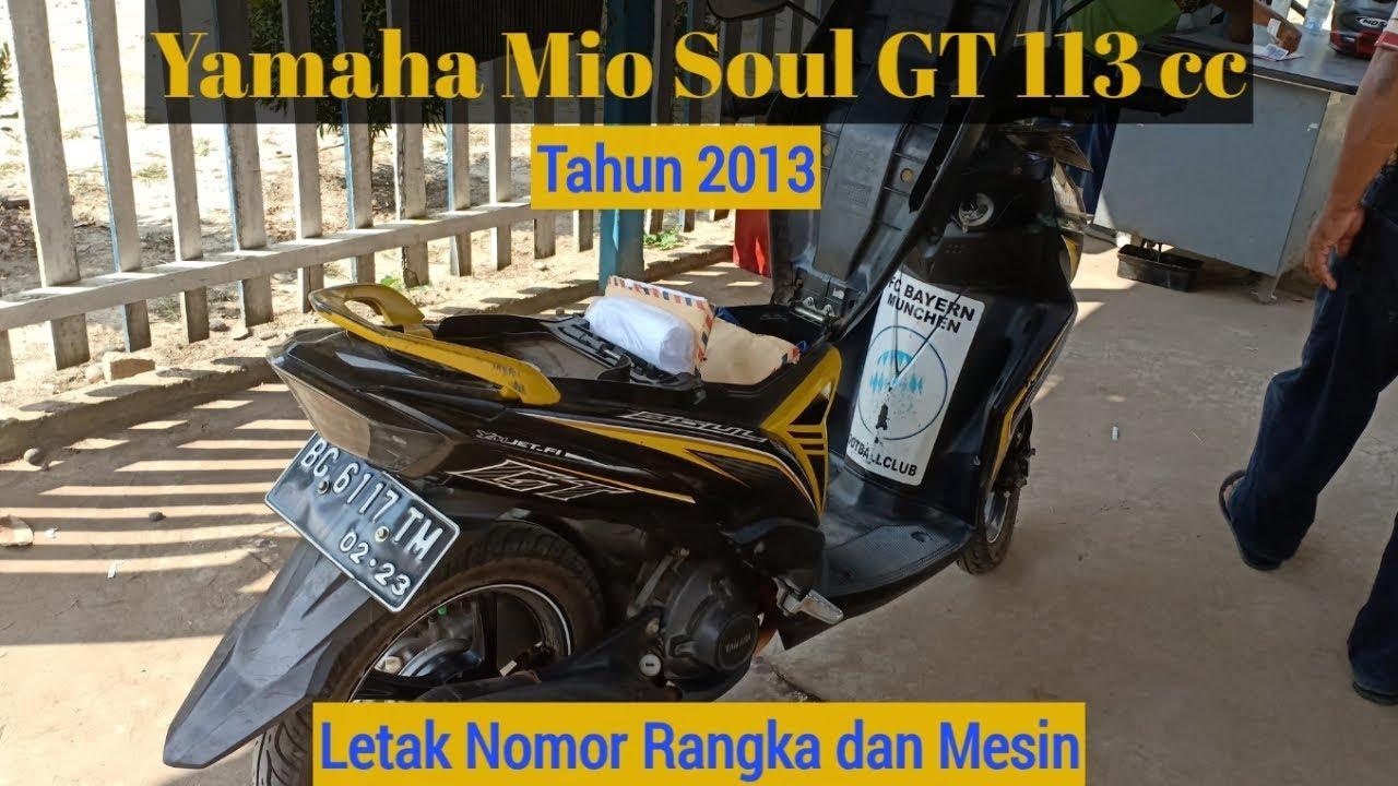 Motor Yamaha Mio Soul GT 1 KP AT 113 cc Tahun 2013 Letak ...