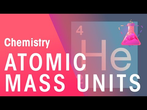 Atomic Mass Units In depth | The Chemistry Journey | The Fuse School
