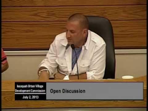 Issaquah Urban Village Development Commission - July 2, 2013