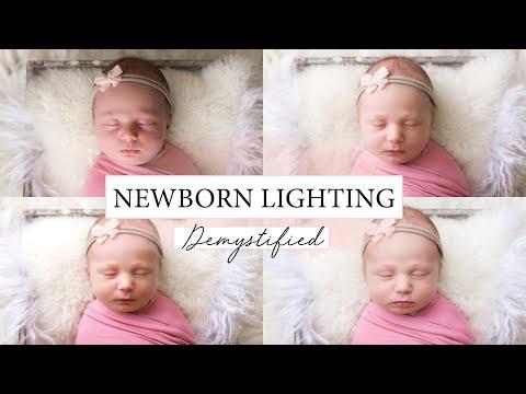 Different Lighting Styles For Newborn Photographers