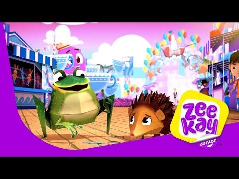 Pop Goes The Balloon  Zack & Quack  ZeeKay Junior
