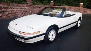 1990 Buick Reatta Limited Edition Convertible Rare! for sale Old Town Automobile in Maryland