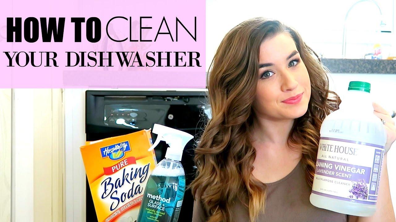 Dishwasher With Vinegar And Baking Soda