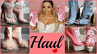 Video My New High Heels... HAUL & Try On ♥ download MP3, 3GP, MP4, WEBM, AVI, FLV Juni 2018