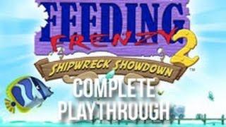 Feeding Frenzy 2 - Shipwreck Showdown (Playthrough)